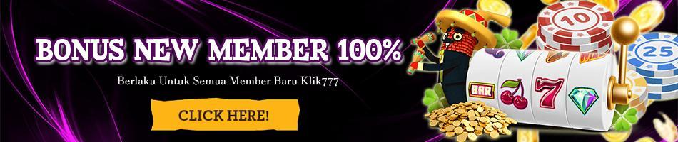 Bonus Judi Online Slot 100 Dan Bonus Mingguan Klik777